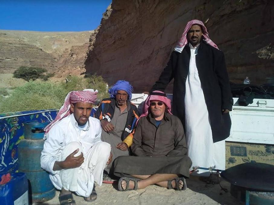 Vračanje v sinajsko puščavo